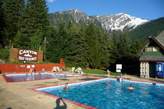 Image result for canyon hot springs