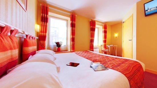 Hotel Le Nautilus: Chambre double lit king size