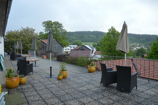 Landgasthof Euler: shared terrace, open to every hotel guest