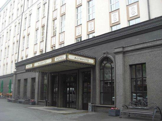 ALFAVITO HOTEL: отель
