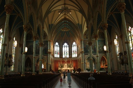Cathedral of St. John the Baptist: rivals European cathedrals