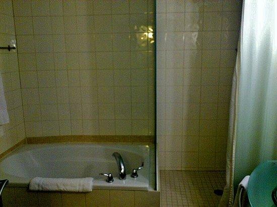 Le Saint-Sulpice: Tub and Shower
