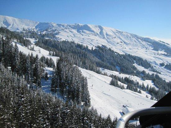 Alpenresidenz Adler: uitzicht vanuit de skilift