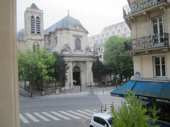 Agora Saint Germain: This is the view from our room