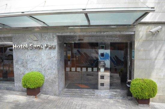 Amrey Sant Pau: Entrada
