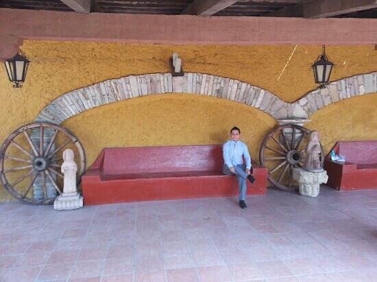 Hotel Real de Minas: Hotel colonial