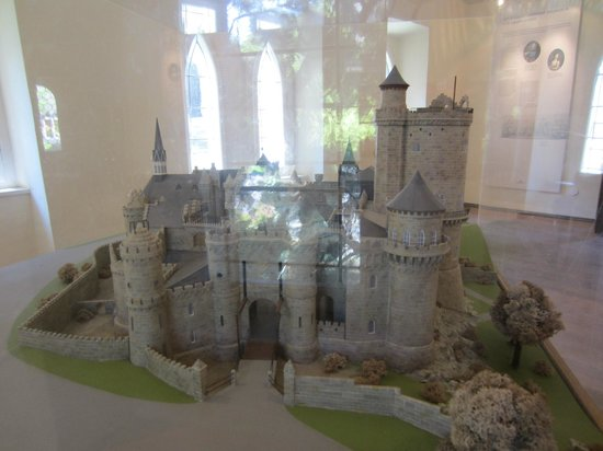 Schloss Wilhelmshohe: castle model