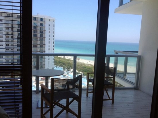 W South Beach: View from the living room