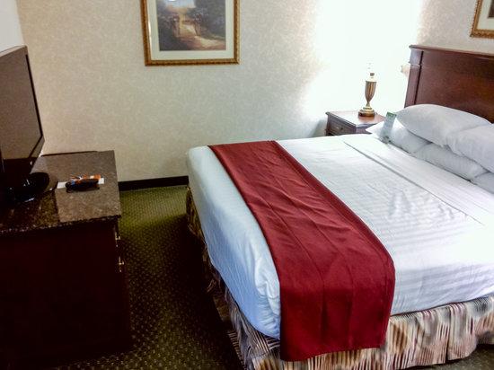 Drury Inn & Suites St. Louis Airport: Suite Bedroom