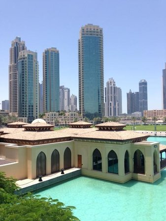 The Palace Downtown Dubai: View from the room overlooking the Thai Restaurant