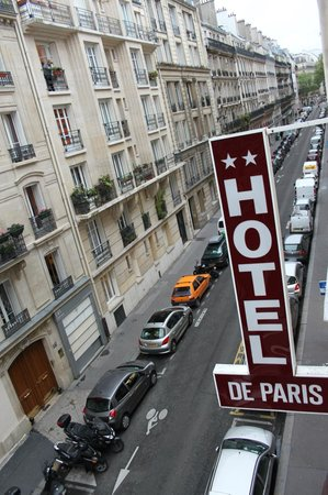 Hotel Paris Legendre : из номера