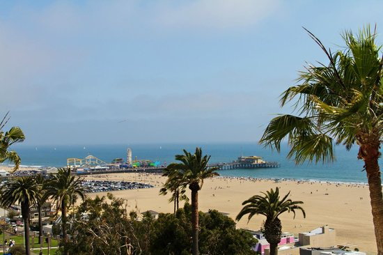 Hotel Shangri-La Santa Monica: View from the balcony