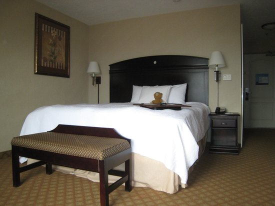 Hampton Inn & Suites Farmington: Guest room