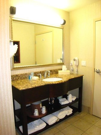 Hampton Inn & Suites Farmington: Bathroom