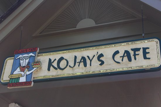 Kojay's Eatery & Coffeehouse: Kojay's Sign