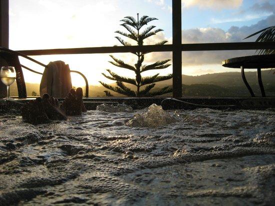 Marjorie's Kauai Inn: Hot Tub