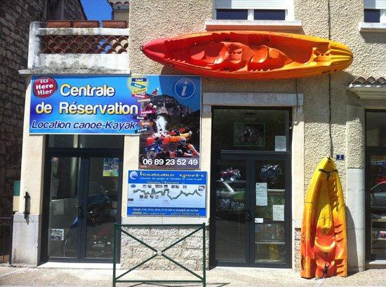 Centrale de reservation activites de pleine nature