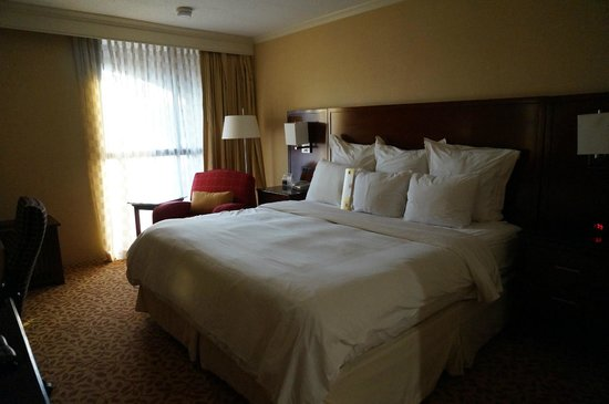 Providence Marriott Downtown: the room