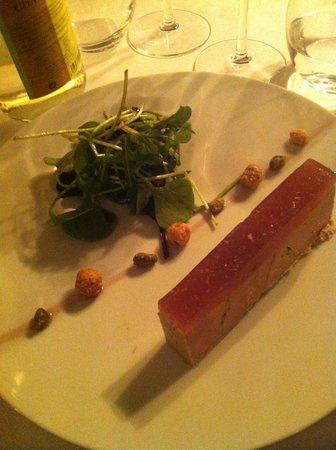 L'Affable : Foie gras et gelée de coing