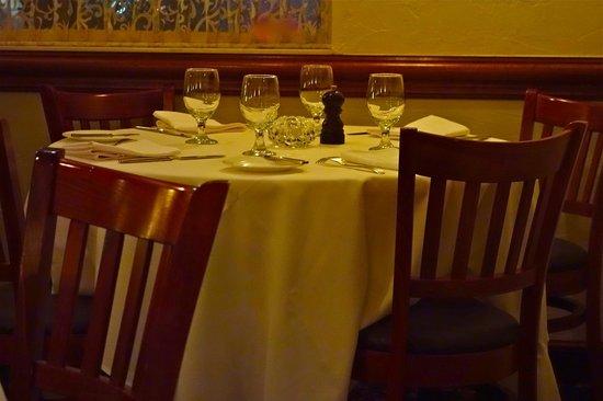 Marcello's La Sirena: Fine White Tablecloth Dining