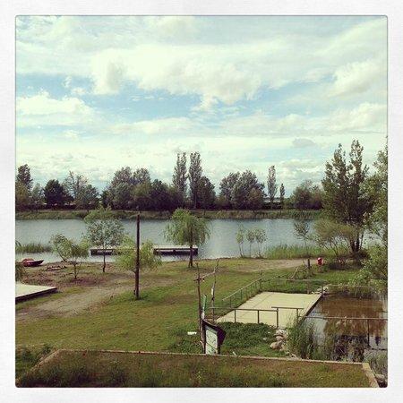 Agriturismo Ai due laghi del Verginese : dalla camera........