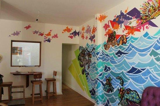 Hostal Po: Living Room