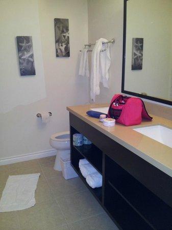 Malibu Country Inn : Waschbereich