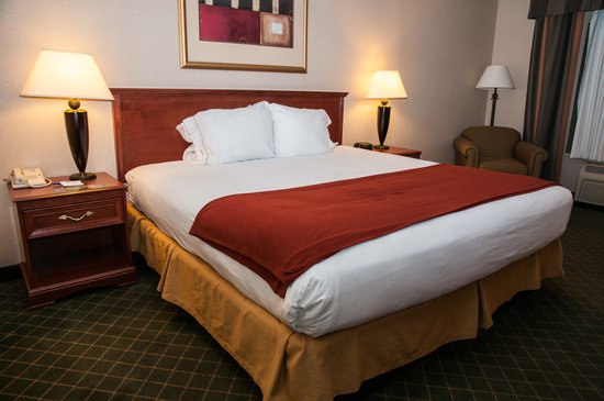 Holiday Inn Express Auburn: Bed