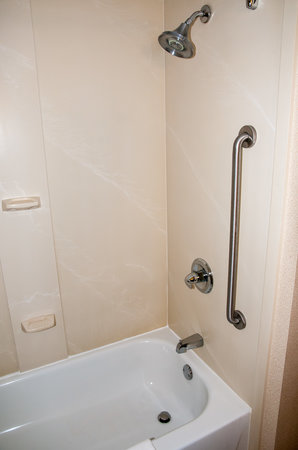 Holiday Inn Express Auburn: Clean Shower