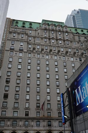 Paramount Hotel Times Square New York: hotel outlook