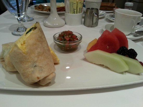 Checkers Downtown: Breakfast wrap $12.25