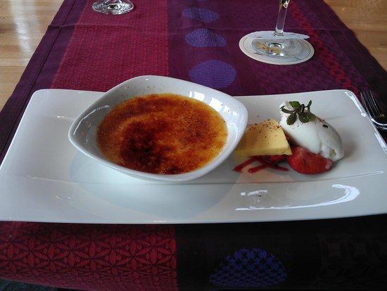 Restaurant ART: Creme Brulee