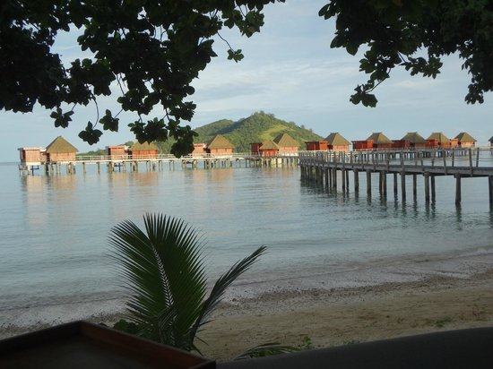 Likuliku Lagoon Resort: over water bures