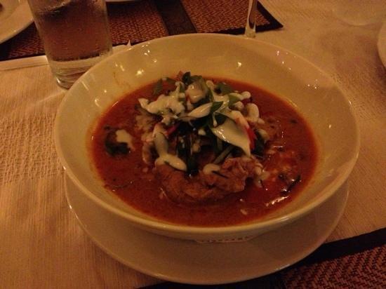 @ The Teak: fabulous meal