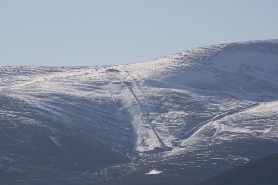 Cairngorm Hotel: View from room 202