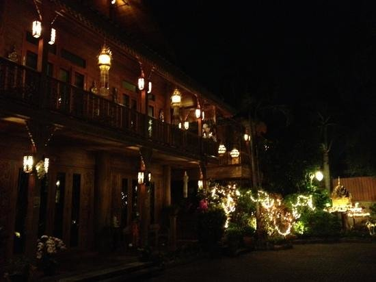 @ The Teak: beautiful house at the restaurant.