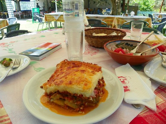 Taverna Edem: moussakà