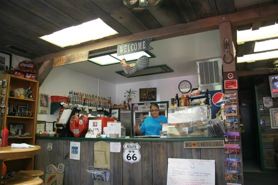 Grand Canyon Coffee and Cafe : Photo of inside counter