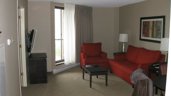 Les Suites Hotel Ottawa: Living room
