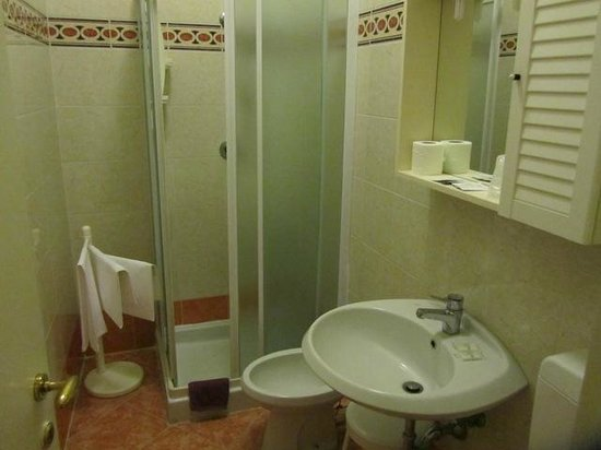 Hotel San Salvador: Bathroom, Annex Room #D