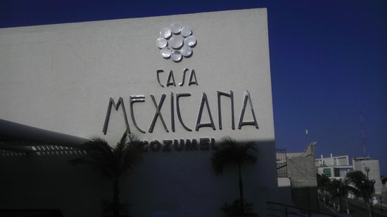 Casa Mexicana Cozumel : casa mexicana!