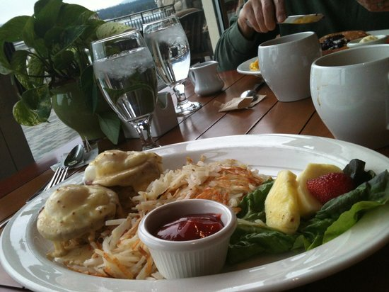 Shore Lodge: Yummy breakfast