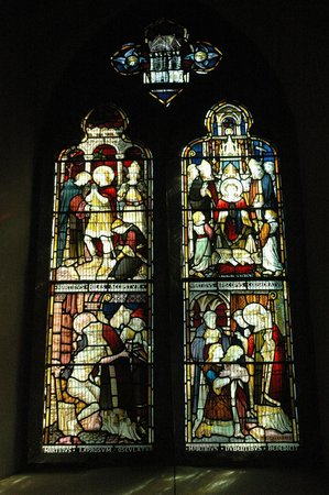 St. Martin's Church: St. Martin's stained glass windows