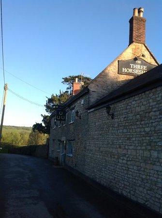 The Three Horseshoes Inn: Add a caption