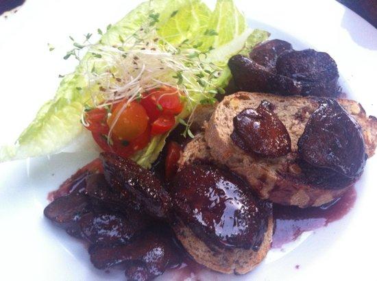 Da Aldo : Veal liver with onion in white wine