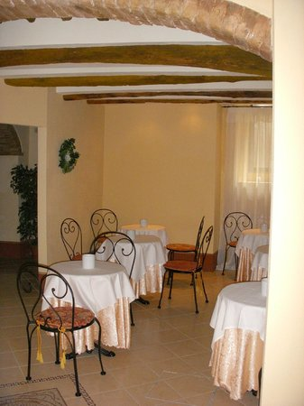Antica Residenza Cicogna: Breakfast area