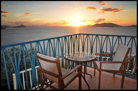 The Heritage Inn: just relax on your balcony & enjoy the tranquility