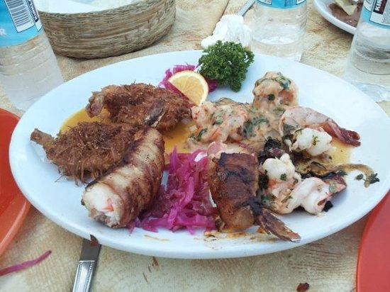 Xocolatl Fajitas Salad & Grill: The Shrimp