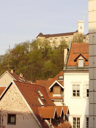 Antiq Palace Hotel & Spa : View of castle from bedroom
