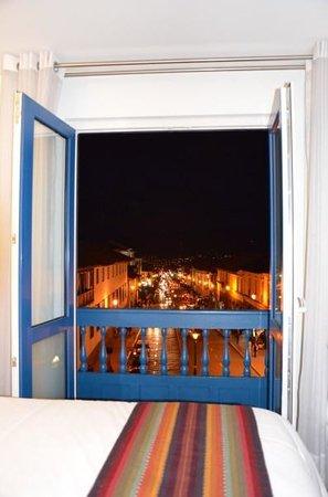 Plaza de Armas Cusco Hotel: Vista desde la habitacion